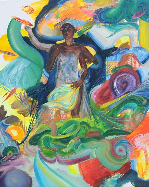 Artist painter Michelle Tourikian