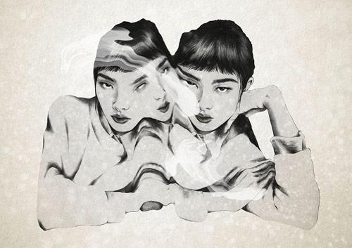 Artist illustrator Milou Maass