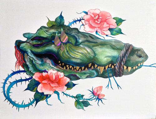 Artist painter Morgaine Faye