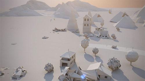 Paper City by Maciek Janicki