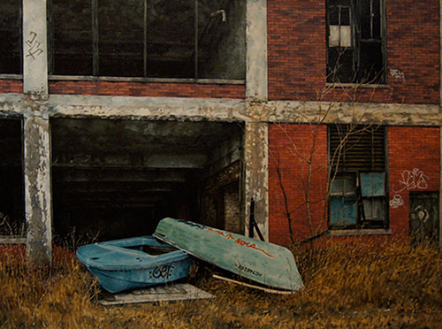 paintings by Stephanie Buer