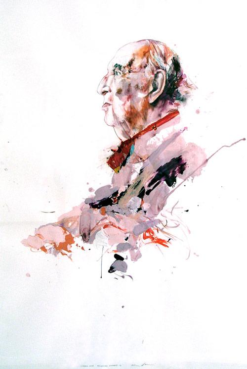 Artist painter Alex Asher Daniel