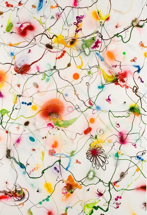Artist painter Thierry Feuz
