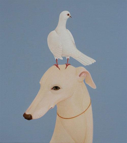 Paintings by artist Whyn Lewis