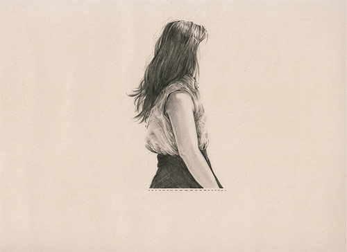 Artist illustrator Evie Cahir