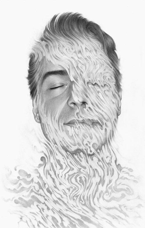 Drawings by illustrator Boris Pelcer