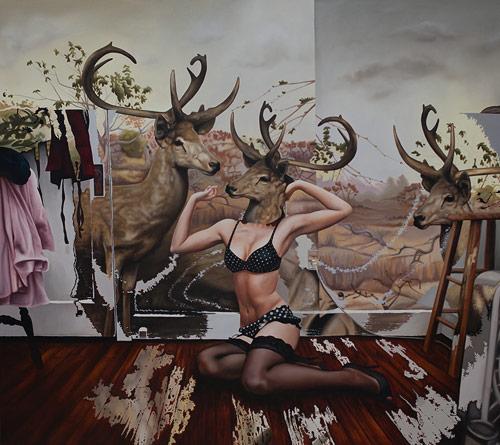 Artist painter Emily Burns