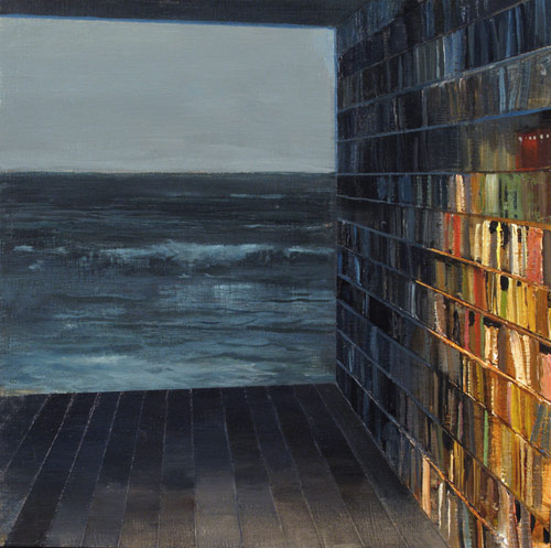 Artist painter Jeremy Miranda
