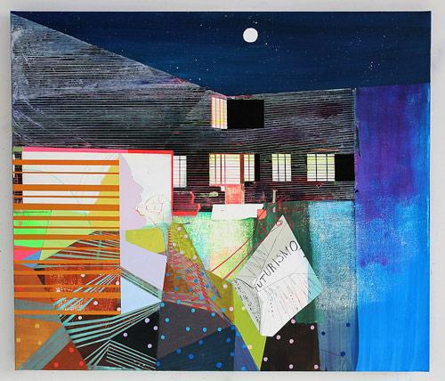 Artist painter Kristen Schiele