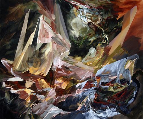 Artist painter Melanie Authier