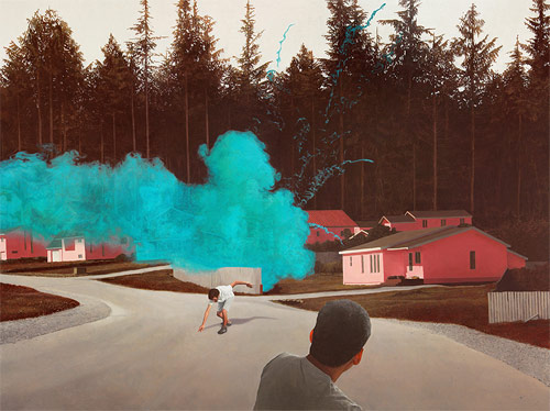 Paintings by artist Alex Roulette