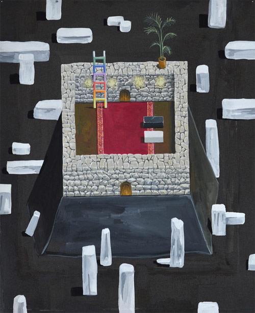 Artist painter Ryan Browning
