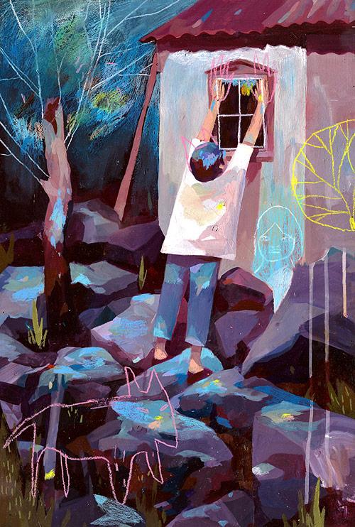 Sam Richwood artist illustrator