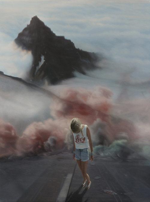Paintings by artist Seamus Conley