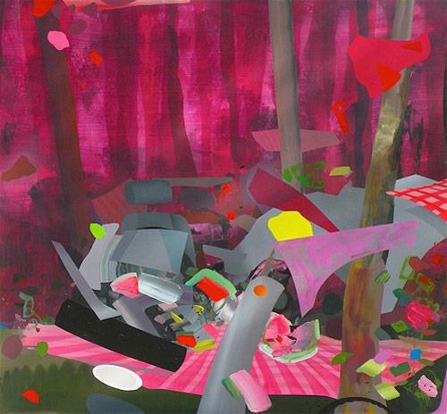 Artist painter Tom Berenz