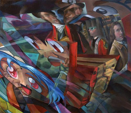 Artist painter Zach Koch