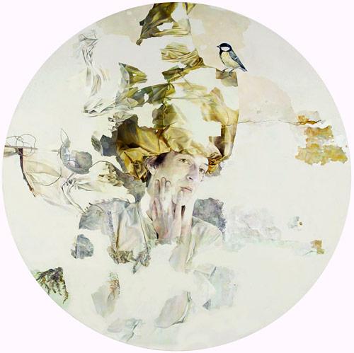 Artist painter Agnes Toth