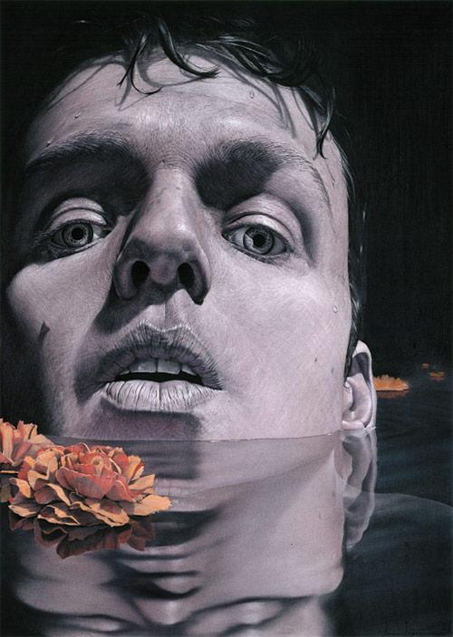Drawings by artist Ian Ingram