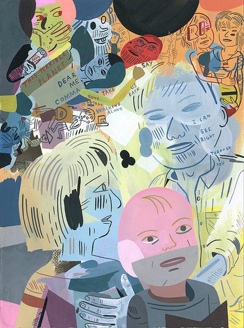 Jason Jägel drawings artist