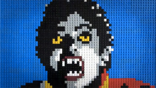 thriller music video made out of lego