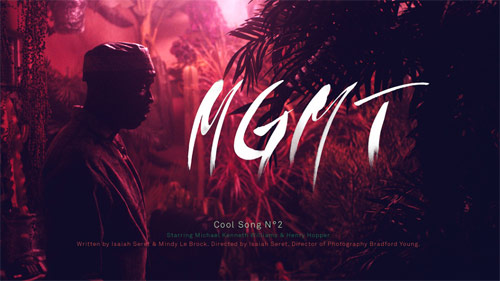 MGMT Cool Song No. 2 music video
