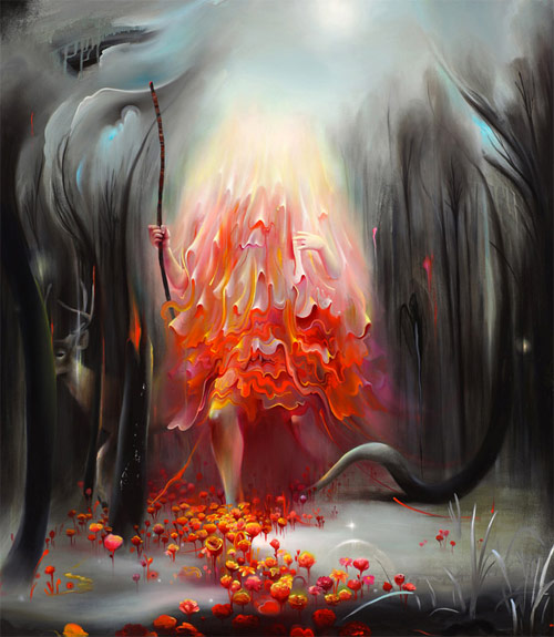 Artist painter Michael Page