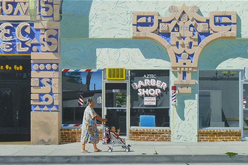 paintings by artist michael ward