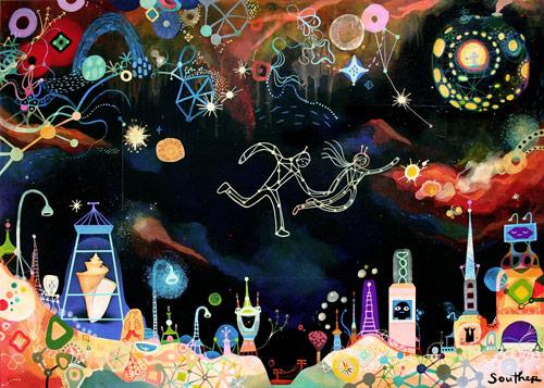 Artist Souther Salazar