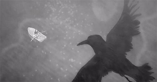 The Abramson Singers Skull & Crossbones animation