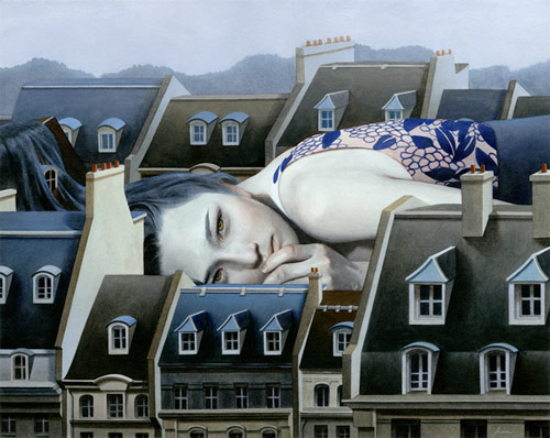 Paintings by artist Tran Nguyen