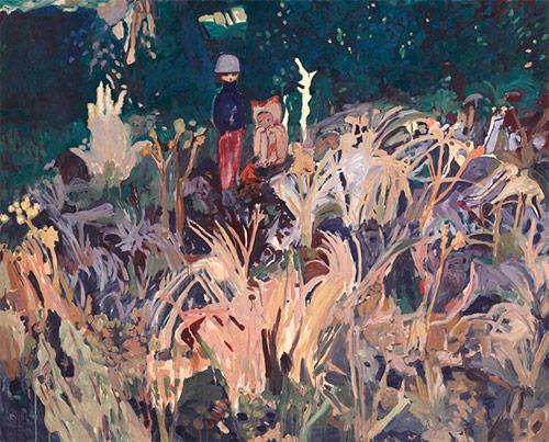 Artist painter Makiko Kudo