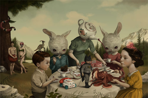Paintings by Illustrator Roby Dwi Antono