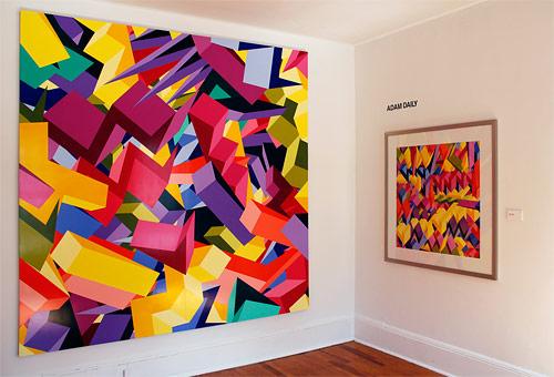 Artist painter Adam Daily
