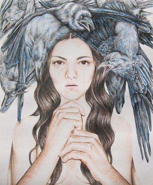 Artist Alicia Reyes McNamara