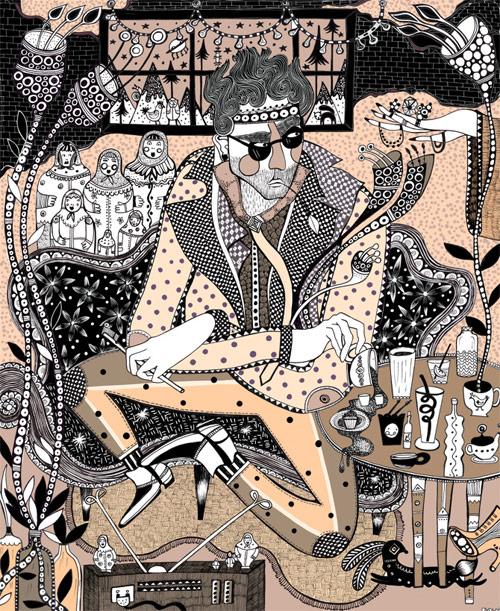 Vancouver based artist illustrator Ola Volo