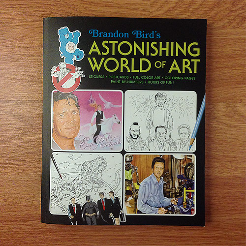 Brandon Bird's Astonishing World of Art Book Giveaway