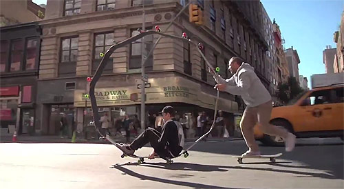 Circle Board in NYC with Mark Gonzales and Krooked