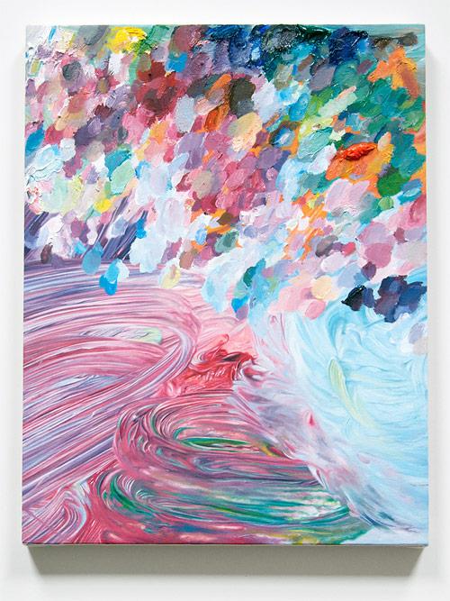 Artist painter Conor Backman