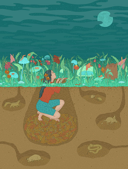 illustrations by Gaby D'Alessandro