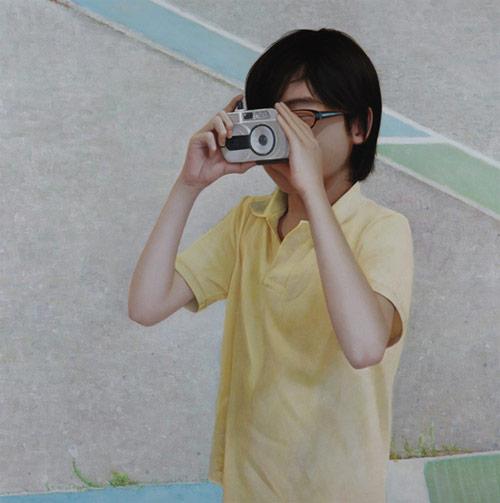 Artist painter Kaoru Usukubo