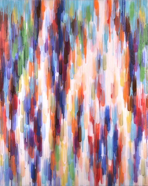 Paintings by Toronto-based artist Katharine Harvey