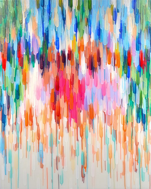 Paintings by Toronto-based artist Katharine Harvey