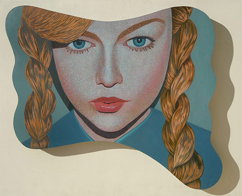 Paintings by artist Kevin Chupik