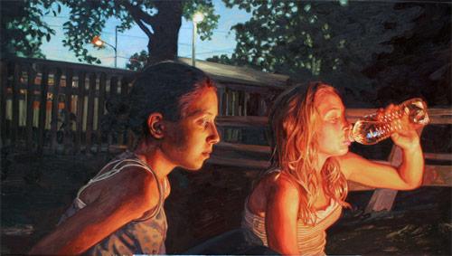 Artist painter Laura Sanders