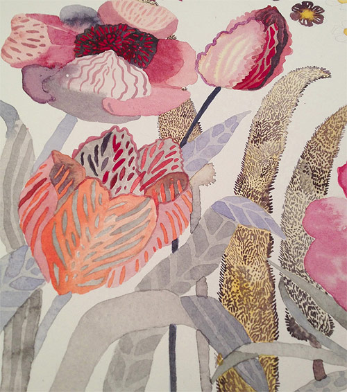 Painter Michelle Morin