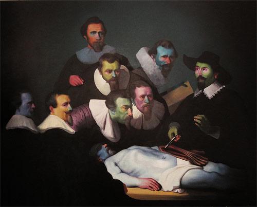 Artist painter Patrick Henne