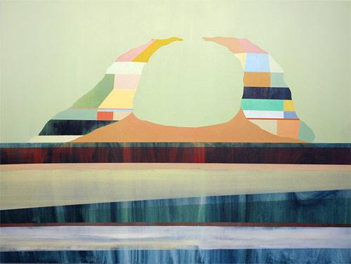 Artist painter Patrick Maguire