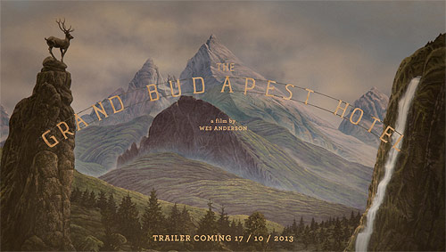 The Grand Budapest Hotel film poster wes anderson