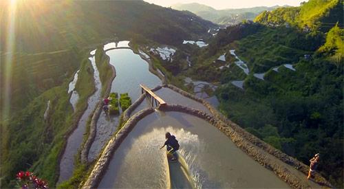 Wakeskating the Famous Rice Terraces of the Philippines (The Eighth Wonder of The World) – BOOOOOOOM! – CREATE * INSPIRE * COMMUNITY * ART * DESIGN * MUSIC * FILM * PHOTO * PROJECTS