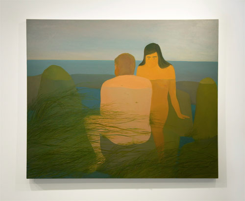 Paintings by artist Xinyi Cheng